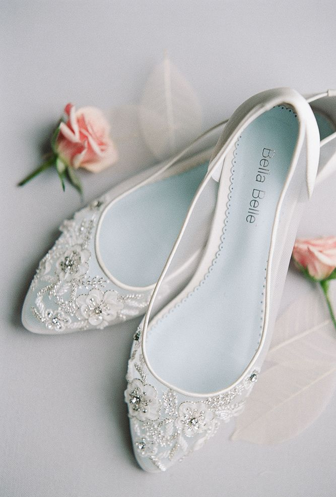 hottest 2017 wedding shoes trends