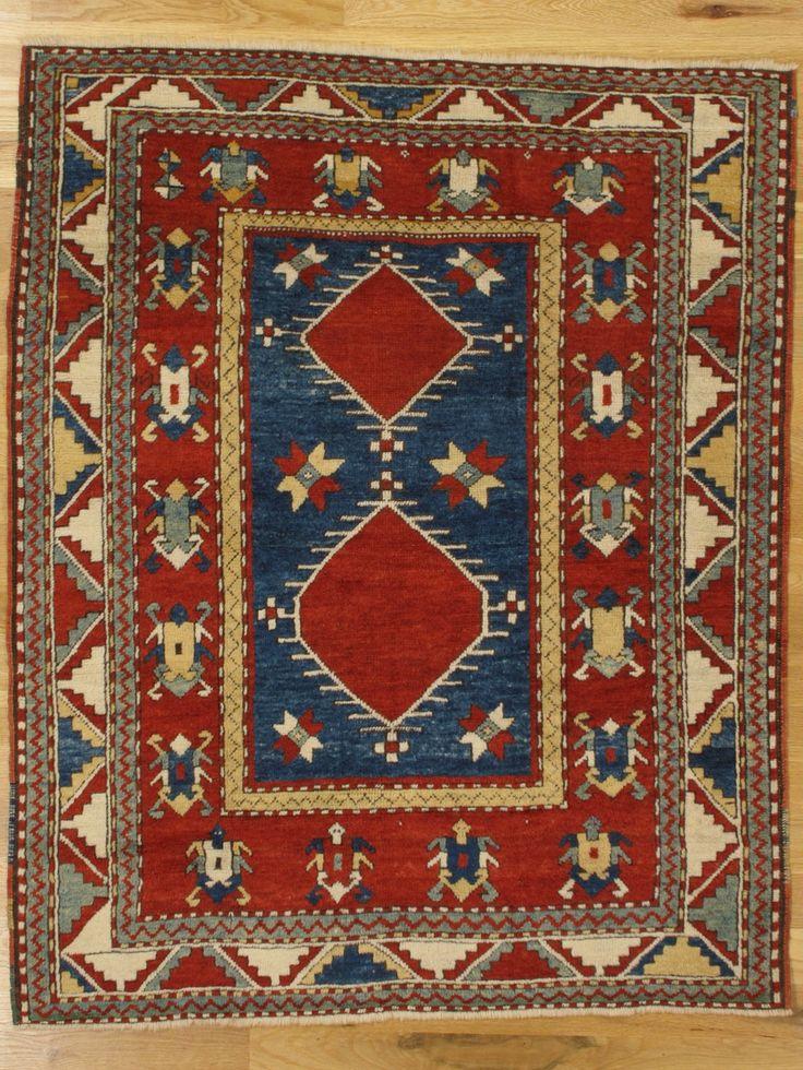 Fachralo Kazak Rug From Southwest Caucasus Age Circa 1885 Size 4
