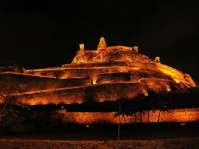 Fort San Felipe of Barajas, in Cartagena, Colombia #Cartagena #Colombia #fort