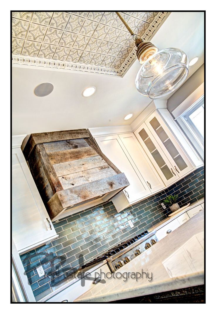 Barn wood hood--would I get tired of it? But so cool!
