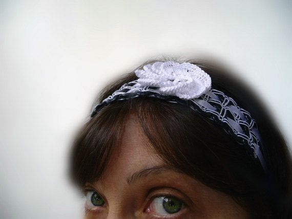 Handmade headband of buttons  for her  cute gift by ShopGift, $16.00