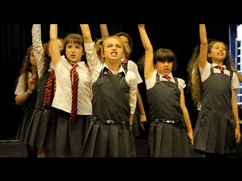 """School Song"" (Matilda the Musical) COVER by Spirit Young Performers Company - YouTube"