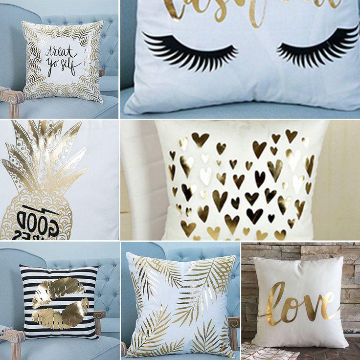 Vintage Cotton Cushion Cover Waist Throw Pillows Home Family Sofa Fashion Decor | Home, Furniture & DIY, Home Decor, Cushions | eBay!