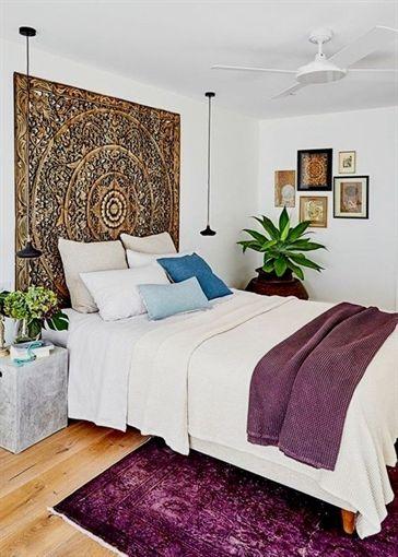 Large King Size Bed Headboard 6ft Sculpture Lotus Flower Etsy