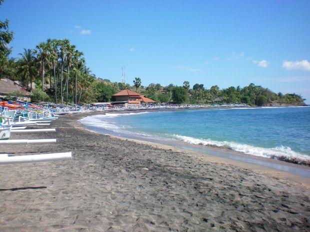 Gotta go here!  Ahmed. Beautiful snorkeling region. North-east Bali, Indonesia.