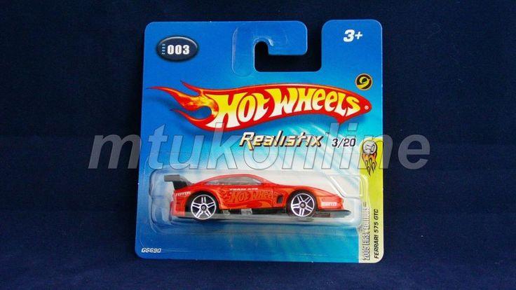 HOTWHEELS 2005 REALISTIX | FERRARI 575 GTC | 3/20 | 003-2005 | C6690