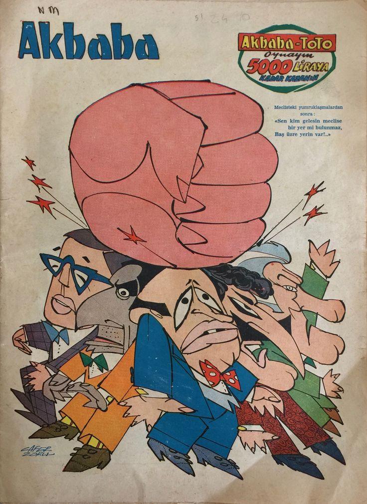 Akbaba Dergisi 21 Şubat 1973 #mizah #akbaba #karikatür