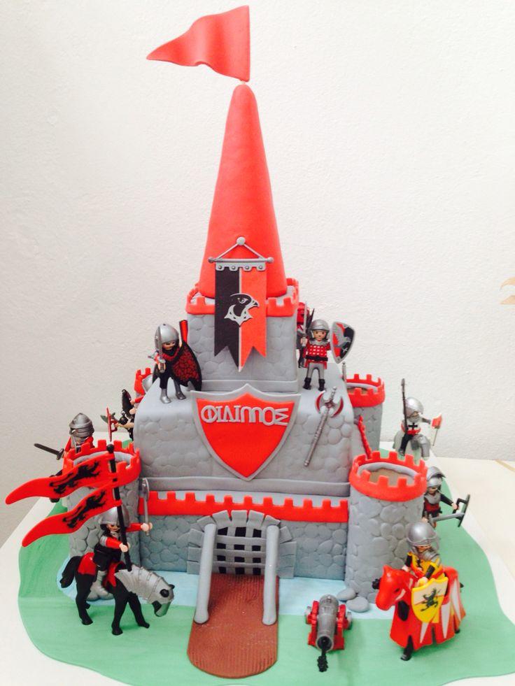 Playmobile castle cakeby #sketiglyka