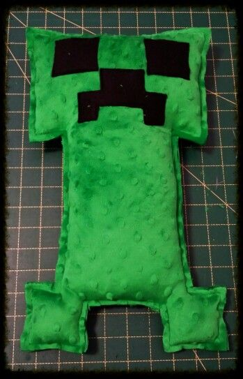 Handmade by Two Special Boys Minecraft Weighted Creeper Fantastic aid for children with Sensory Processing Disorder or ASD / Autism