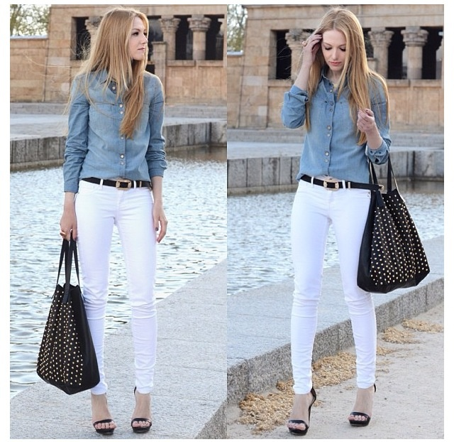 146 best images about Womens white pants on Pinterest | White ...