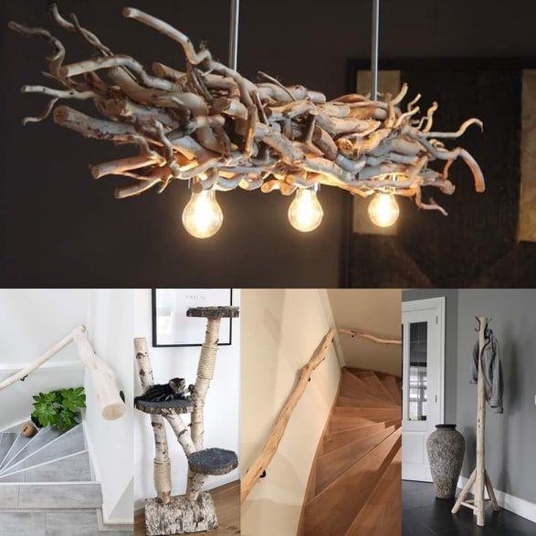 Hout Decoratie Houten Lamp Hout Lampen Zelf Maken