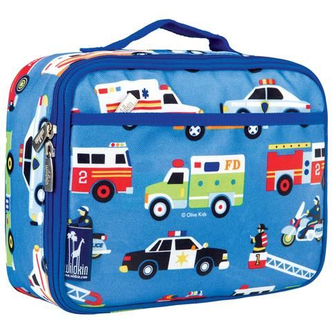 Wildkin Insulated Lunch Bag - Heroes