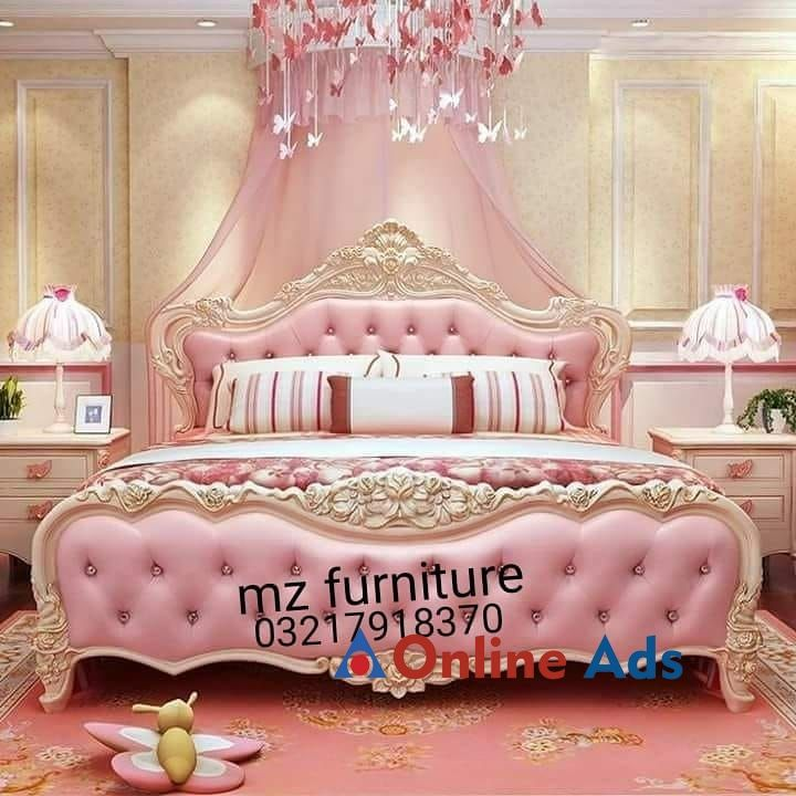 Fancy Beds Furniture With Images Fancy Bed Pink Bedroom