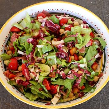 Italian Chopped Salad Recipe - Italian Food Forever