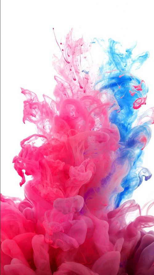 Imagem de wallpaper, blue, and pink