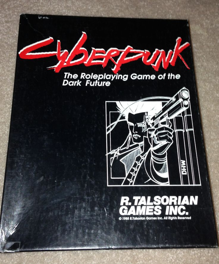 Flashback look at the Cyberpunk RPG by the Geek Dad.  2013 was the future!