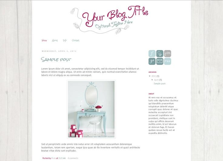 9 best blogging images on pinterest blogging blog for Premade columns