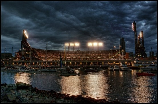 AT Park, Home of the San Francisco Giants.Att Parks, Awesome Pictures, At T Parks, San Francisco Giants, Giants Basebal, Sfgiants, The Games, Baseball Baseball Basebal, Sf Giants