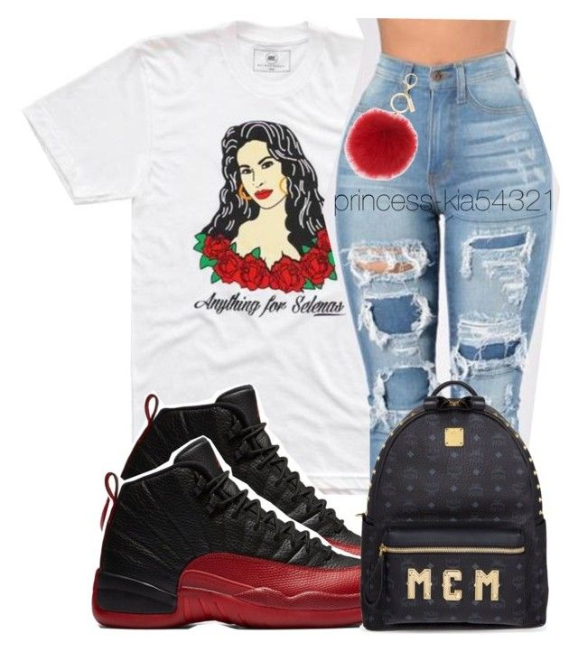 """""""*"""" by princess-kia54321 ❤ liked on Polyvore featuring MCM and L.K.Bennett"""