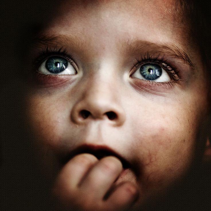tones, portrait, eyes, expression, treatment