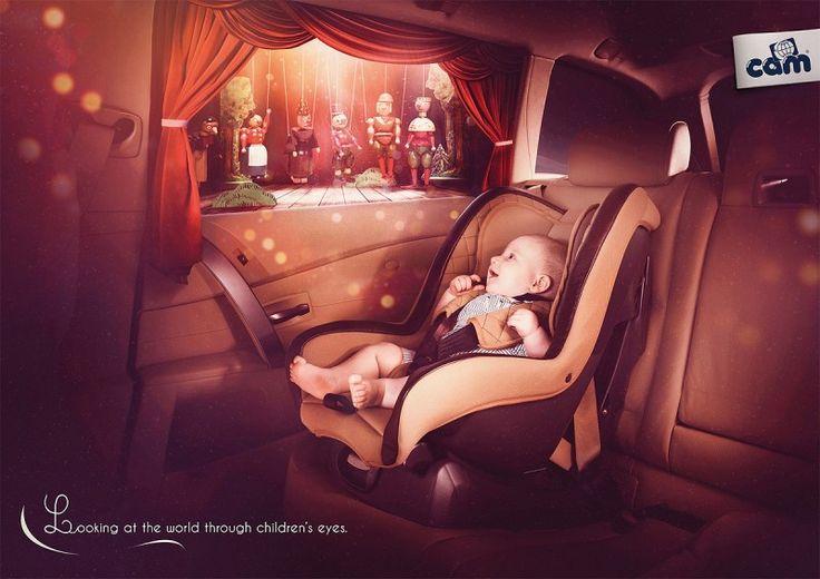 Шедевры рекламы: Мир глазами ребенка. (17 фото)