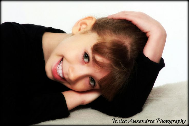This is my little sister, I had her come into the studio with me one afternoon. We had a lot of  fun!