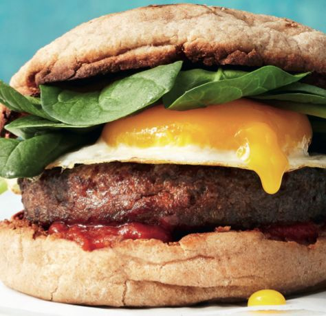 Try this 1400kj Egg Sandwich. 22g Protein for a supercharged breakfast! #Breakfast #Healthy #MealTimeIdea