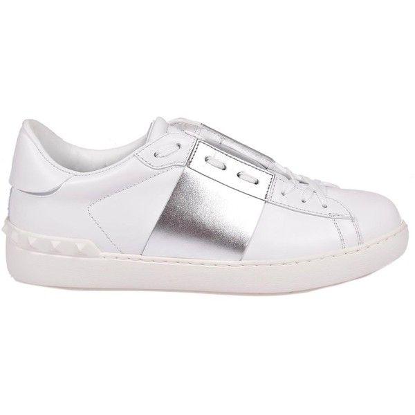 Valentino Garavani Sneakers ($405) ❤ liked on Polyvore featuring shoes, sneakers, valentino shoes, valentino sneakers and valentino trainers