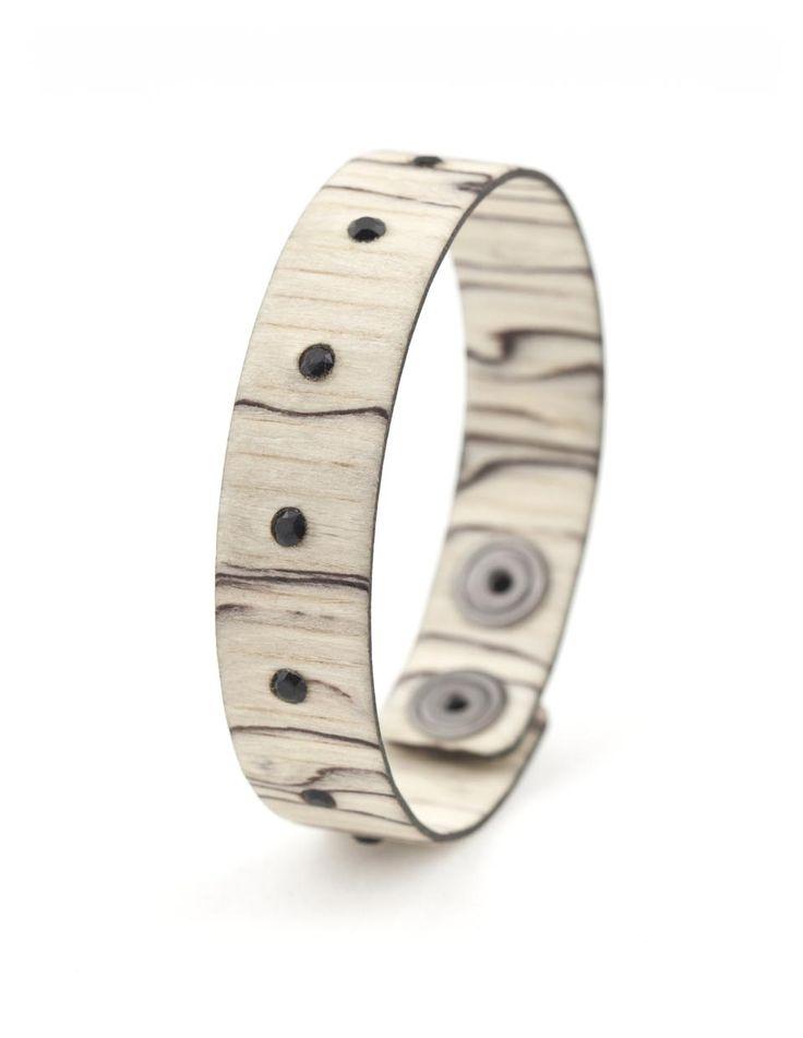 BAD DANDY BETULLA GHIACCIATA #bracelet #fashion #woodbracelet #wood #design #madeinitaly