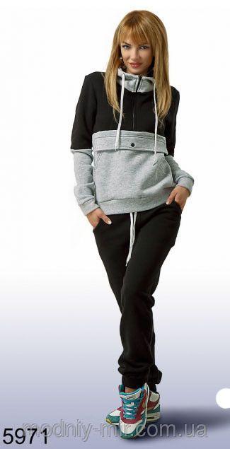 Модный спортивный костюм женский, фото 2