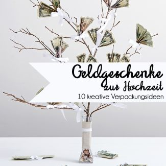 Wie packt man Geldgeschenke für die Hochzeit besonders schön ein?   #wedding…