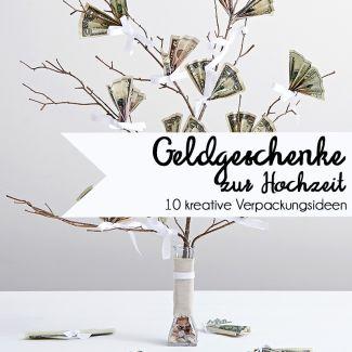 Wie packt man Geldgeschenke für die Hochzeit besonders schön ein? | #wedding #moneygift #geldgeschenke