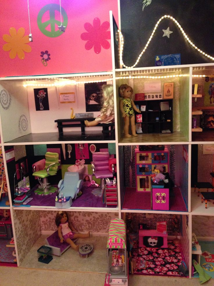 17 best images about american girl doll house updated on for A kreations salon
