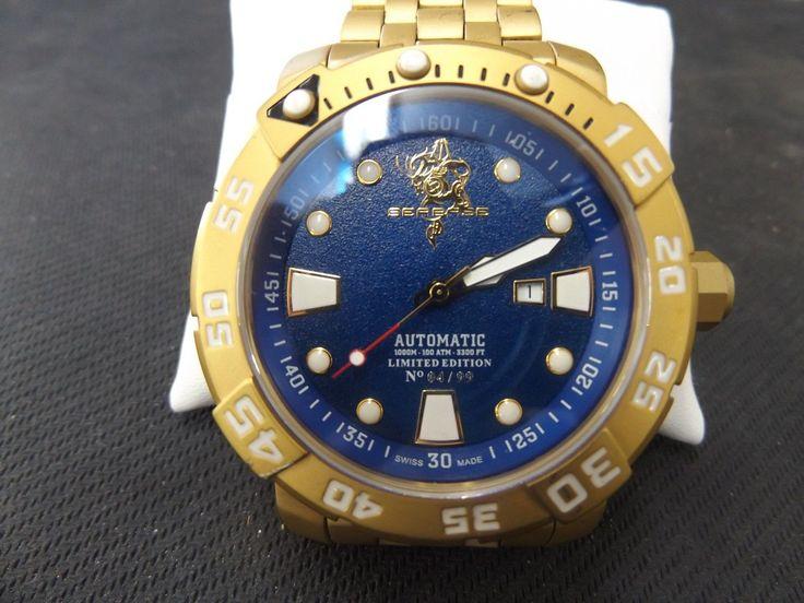Mens Invicta Gold Watch