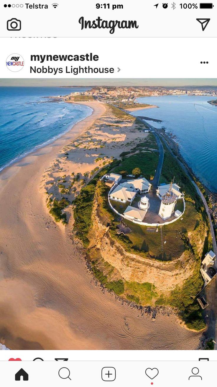 Nobbys Light House Newcastle NSW Australia