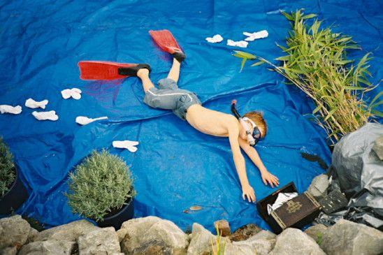 Jan von Holleben-Dreams of Flying-The diver