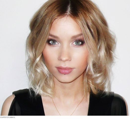 Wavy Bob with Ombre-LOVE!!!! what i want the end result of my cut to look like