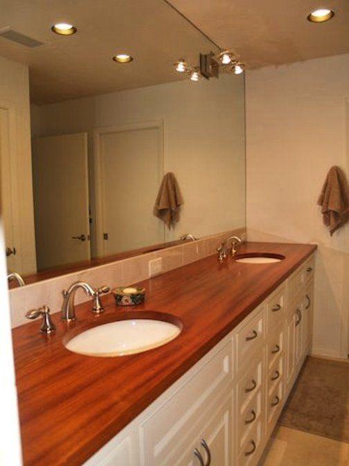 DeVos Custom Woodworking   Jatoba Wood Countertop Photo Gallery