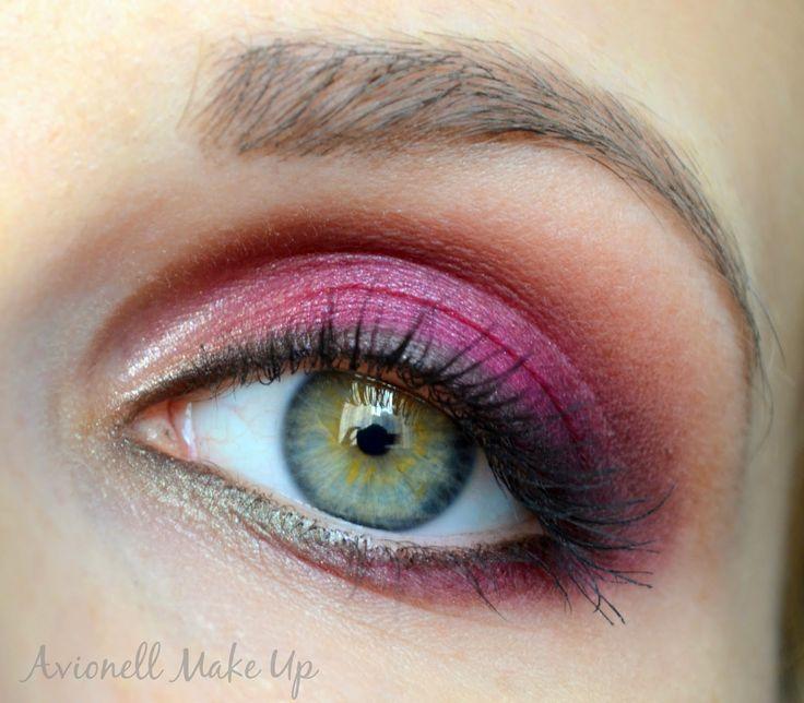 Fall Make Up  ______________ http://fifty-shades-of-beauty.blogspot.com/2014/10/jesien-w-kolorze-bordo-make-up.html