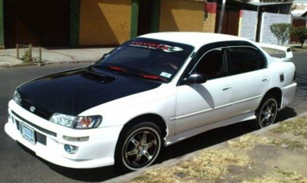 Street Racing Car Modified: Custom Toyota Corolla