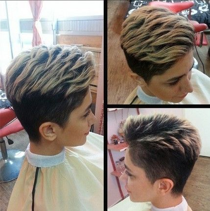 Short Layered Hairstyles for Thick Hair 2015