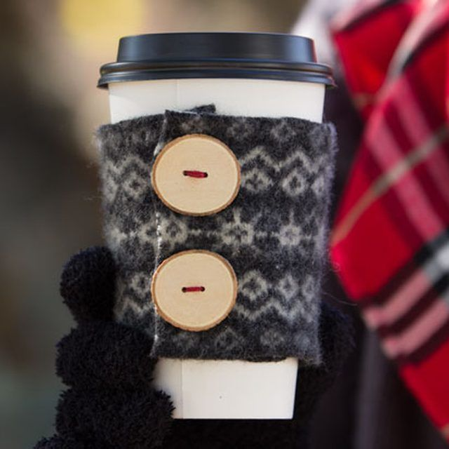 Bundle Up Your Hot Drinks in a DIY Felted Wool Cup Cozy | eHow Crafts | eHow