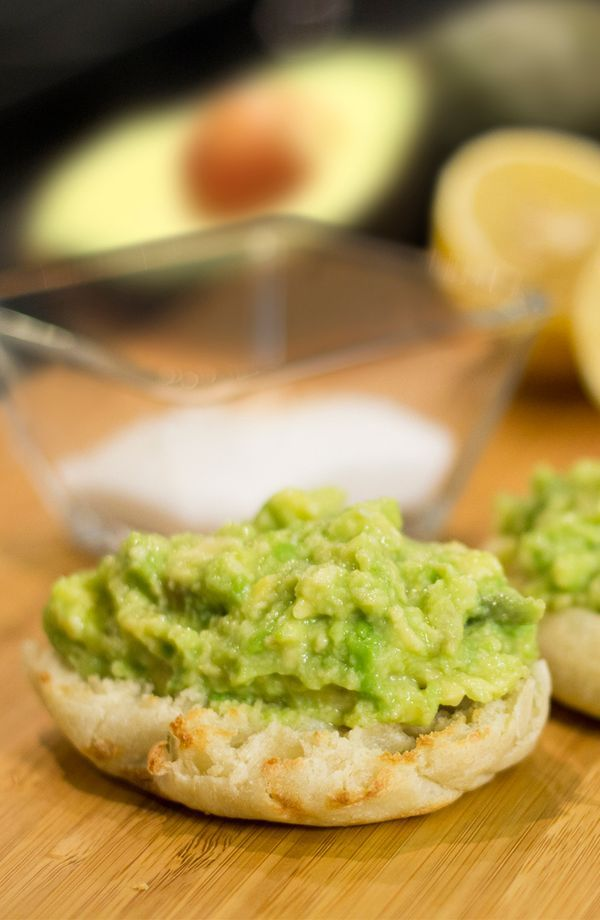 Avocado and Sea Salt English Muffins: Try this cool and refreshing summer recipe from celebrity Chef Tim Love. Just mix fresh avocado and lemon juice, a dash of sea salt, and a drizzle of olive oil before piling it all on top of a Thomas' Original English Muffin. [Promotional Pin]