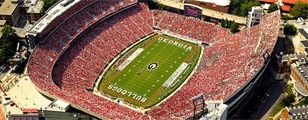 SEC (Southeastern Conference) Football... look at all that RED! ...goooooooo dawgs! woof woof woof woof!