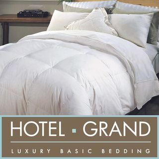 Hotel Grand Naples 700 TC Extra Warmth Hungarian White Goose Down Comforter...  Must have   they feel #amazing