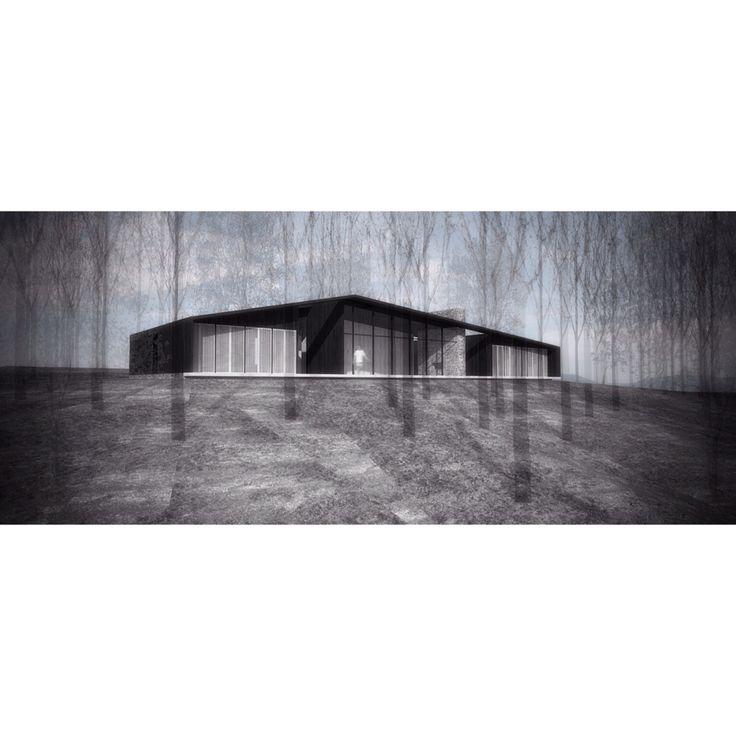 Casa Aguas Claras - Elton+Leniz Arquitectos
