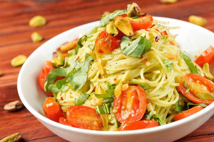 Creamy Avocado Pasta via Home Chef