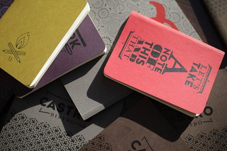 Noto notebooks. Photo: Csaba Dömötör