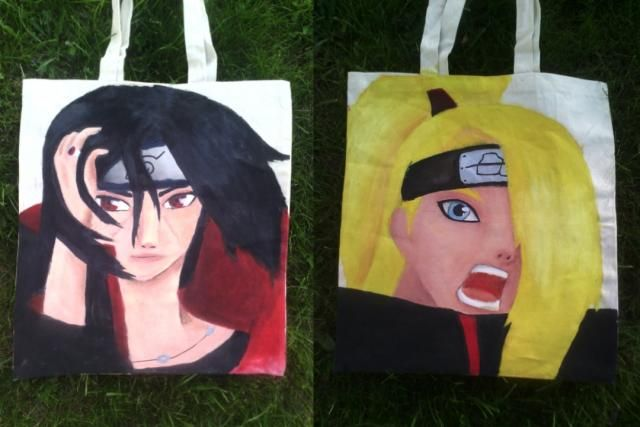 ItaDei bag... I know it isn't very good, but... (painted by me)