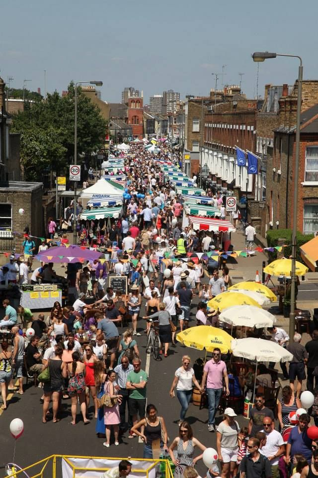 Over 5,000 people came along to the Northcote Road Summer Fete in Battersea!